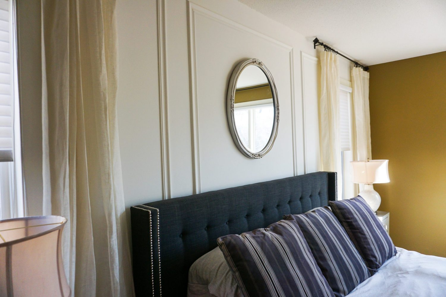 Diy Master Bedroom Feature Wall Works Of E